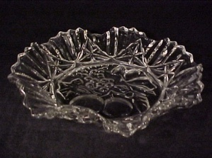 Federal Glass Pioneer Fruit Console Centerpiece Bowl (Image1)