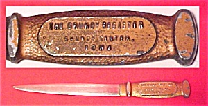 Letter Opener Grundy Center Iowa The Grundy Register Advertising
