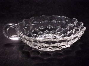 Fostoria American Elegant Depression Glass Nappy Bowl (Image1)