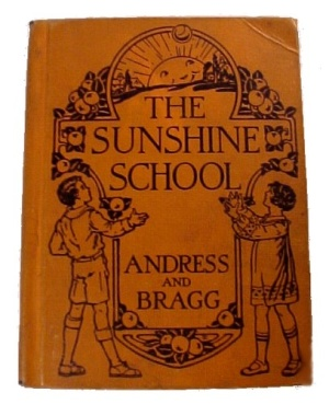 The Sunshine School 1928 Children's Reader Book (Image1)