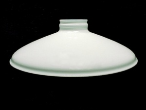 Cone Metal Lamp Light Shade Pendant 2.25 X 10 White