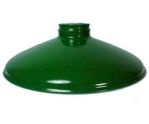 Cone Metal Lamp Light Shade Pendant 2.25 X 10 Green  (Image1)
