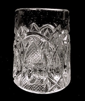 1903 Us Glass New Hampshire Bent Buckle Toothpick