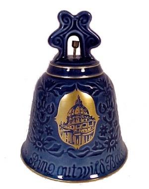 B & G 1975 New Year Bell Basilica DI San Pietro Bing Grondahl  (Image1)
