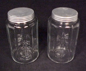 Depression Glass Spice Jar for Hoosier Kitchen Cupboard (Image1)