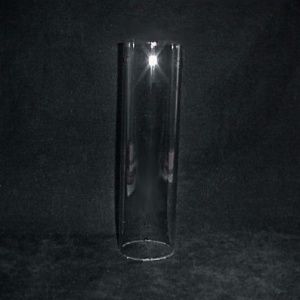 Cylinder 1 3/4 X 9 3/8 in Tube Glass Light Lamp Shade Candle Holder (Image1)