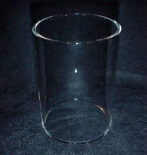 Cylinder 2 X 2 3/4 in Tube Glass Light Lamp Shade Candle Holder Sconce (Image1)