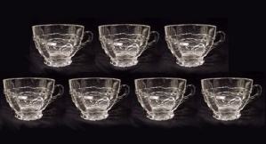 Cambridge Elegant Depression Glass Cascade Crystal Cup