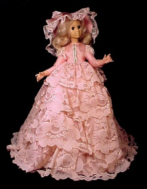 1963 Eegee Teen Doll w Sleep Eyes Pink Bouffant Dress Vintage 1960s (Image1)