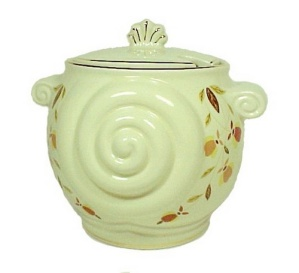 Autumn Leaf Nautilus Soup Tureen Jewel T Hall China New (Image1)