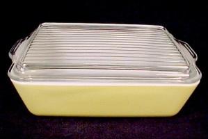 Pyrex Classic Yellow 503 Refrigerator Dish 1 1/2 Quart (Image1)
