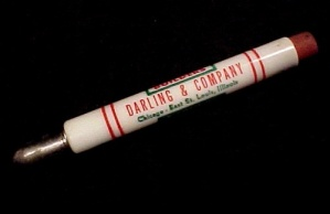 Darling's Bullet Pencil Chicago East St Louis Illinois (Image1)