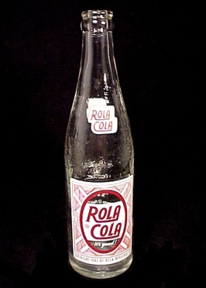 Rola Cola Soda Pop Beverage Bottle Erie PA Pennsylvania Advertising (Image1)
