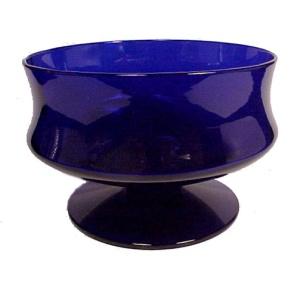 Cobalt Ritz Blue Elegant Glass Sherbet Ftd Dessert Dish (Image1)