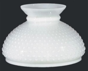 Milk Glass Hobnail 10 In Student Lamp Shade Desk Table Wall Chandelier