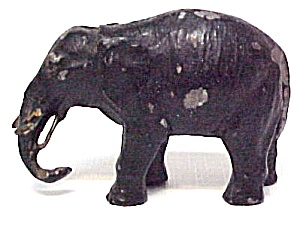 German Metal Elephant Figurine Germany Figure Vintage