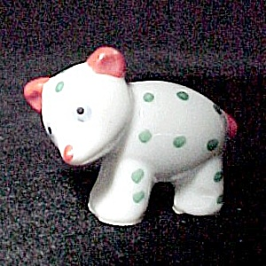 Porcelain Bear Germany Miniature Character Figurine Vintage