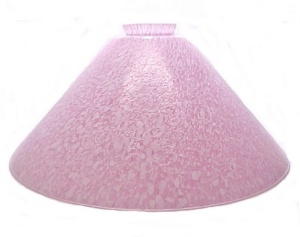 Pink Glass Cone 2.25X12 Vianne Pendant Lamp Light Shade (Image1)