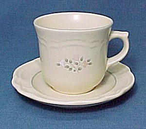 Pfaltzgraff Remembrance Tea Cup and Saucer Mug China (Image1)