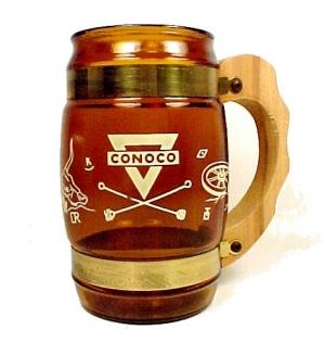 Siesta Ware Conoco Oil Western Coffee Beer Soda Cup Mug (Image1)