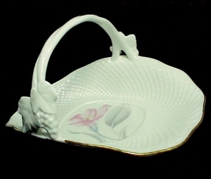 Mikasa Bone China Eden's Garden Basket Candy Dish