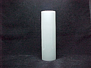 Milk Glass White Cylinder Tube 3x10 Mid Century Modern Wall Sconce New