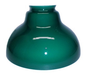 Bell 12 In Green Shade For Bh Aladdin 5 & 6 Hanging Lamp Kerosene Oil