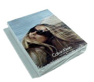 Calvin Klein Marchon Eyewear Postcards 1 In Packet Pc 2005 Advertising