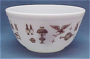 Pyrex Early American 1 1/2 Quart. Mixing Bowl Vintage (Image1)