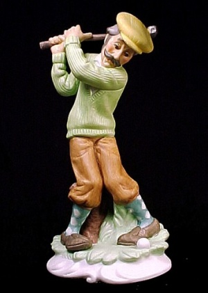 Lefton China Golf Golfer Golfing Man Figurine # 2770 (Image1)