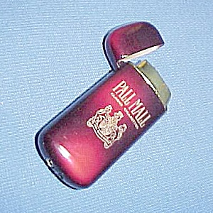 Vintage 1990s Pall Mall Cigarette Butane Pocket Lighter (Image1)