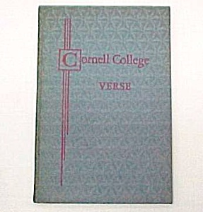 Cornell College Verse Vol 2 Mount Vernon Iowa IA Poetry (Image1)
