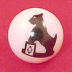 New Scottie Scotty Dog Boyd Glass Collectors Marble (Image1)
