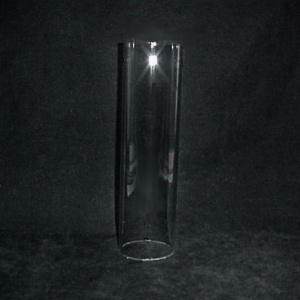 Tube Cylinder Light Lamp Shade 2 1/2 X 10 in Candle Holder Glass New (Image1)