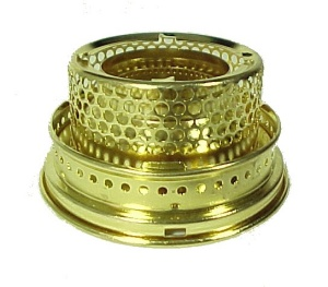 Aladdin Lamp Gallery Solid Brass Model B fits Models 12 14 A B Burners (Image1)