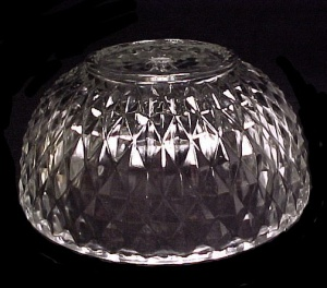 Prismatic Clear Glass Center Post 8 in Light Lamp Shade (Image1)