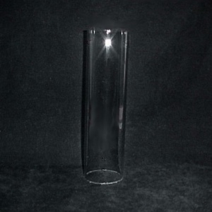 Cylinder 2 X 8.8189 In Tube Glass Light Lamp Shade As Is Bird Feeder