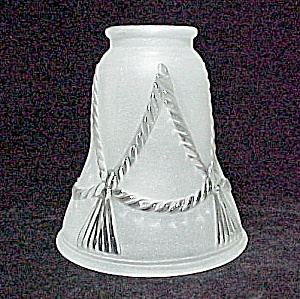 Rope N Tassel Western Bell 2 1/4 Light Shade Ceiling Fan Chandelier (Image1)