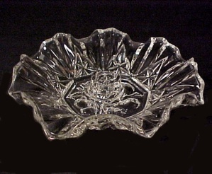 Federal Glass Pioneer Fruit Candleholder Candle Holder