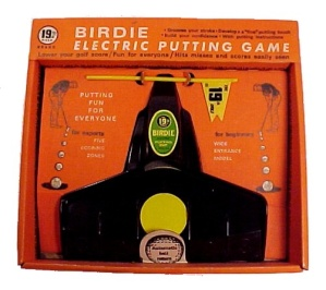 Birdie Electric Golf Ball Putting Game Golfing Golfer