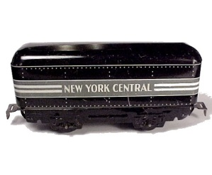 Marx New York Central Railroad Train Box Car Vintage