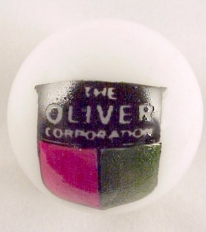 Oliver Tractor Farm Equipment Glass Marble Collectors