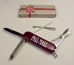 Pall Mall  Keychain Pocket Knife Kit Blade Pick Tweezers File Scissors (Image1)