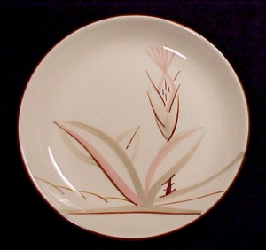 Winfield China Dragon Flower 6 In Bread & Butter Plate