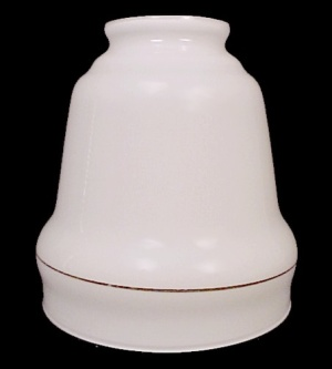 White Glass 2 1/8 Wall Light Chandelier Fixture Shade (Image1)