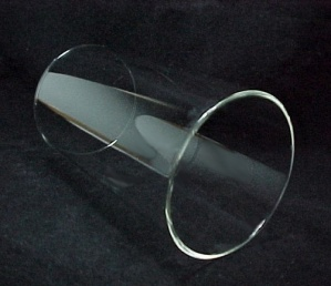 Cylinder 4 X 7 Tube Light Lamp Shade Glass Wall 5mm Sconce Holder (Image1)