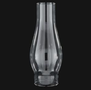 Clear Glass 2 5/8 X 8.5 Kerosene Oil Lamp Chimney (Image1)