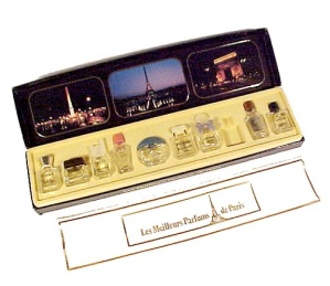 Les Meilleurs Parfums De Paris 9 Miniature Bottles in Box Mini France (Image1)