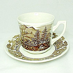 J & G Meakin American Legend Ironstone China Cup Saucer (Image1)