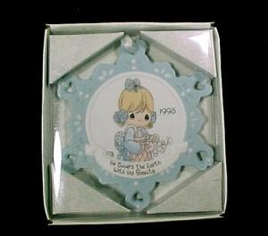 Enesco Precious Moments Christmas Tree Ornament in Box (Image1)